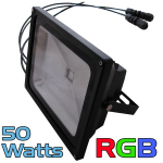 50 Watt Cosmic Color RGB Flood with built-in controller