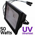 50 Watt Cosmic Color Ultraviolet Flood with built-in controller
