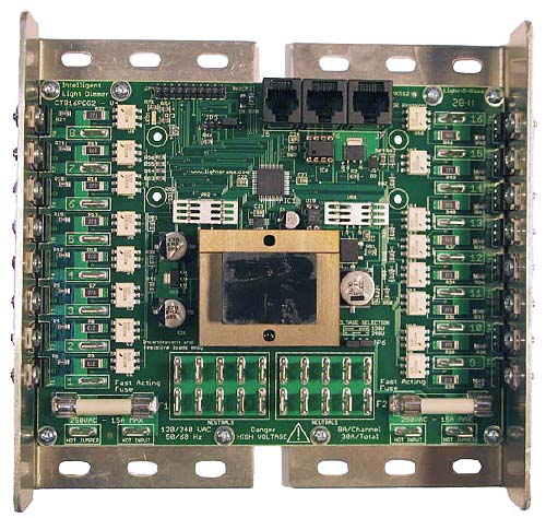 Light Sequence Controller: High Voltage AC Light Controller Boards