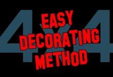 Photo of 4 x 4 Decorating