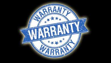 Photo of Warranties