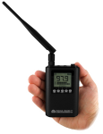 FM transmitter size shown with one type of antenna