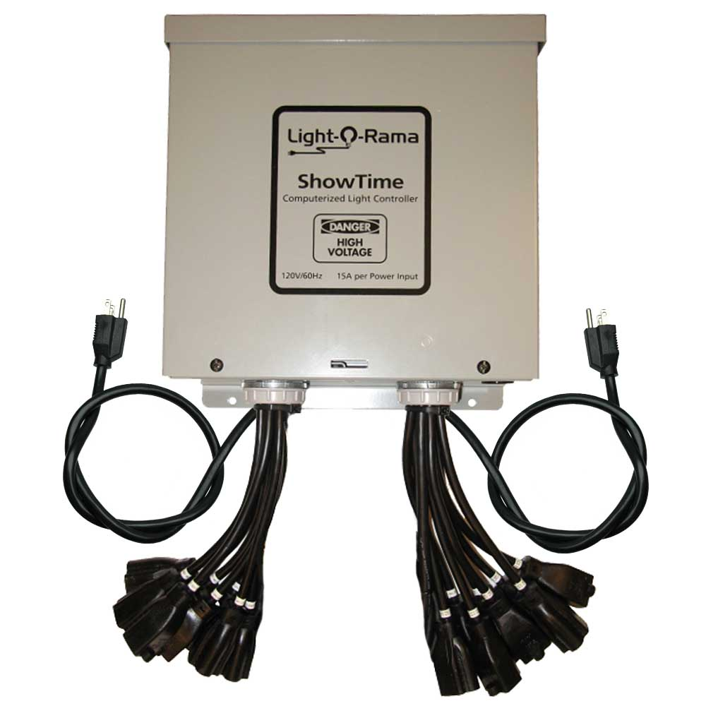light o rama 1602 professionalcommercial light controller 16 channels