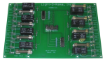 Light-O-Rama 8 Channel Relay Daughterboard for DIO32 Motherboard