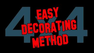Photo of 4 x 4 Decorating