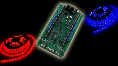 Photo of Simple RGB Controller with 8 Pixel Ports