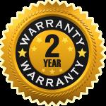 Two Year Warranty Badge